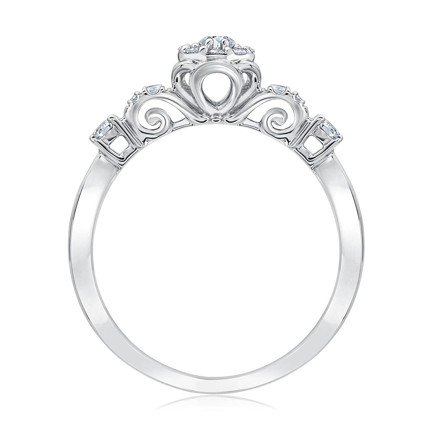 diamond from watch youtube staircase engagement rings cinderella nexus
