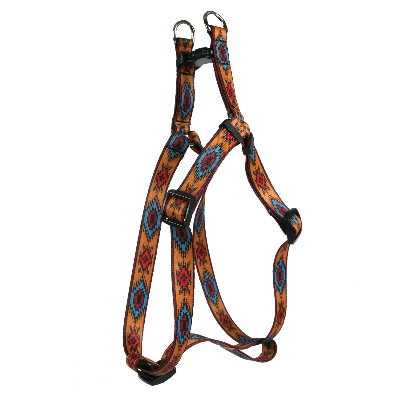 Yellow Dog Design Standard Step-In Harness, Indian Spirit Orange, Large 25'' - 40''