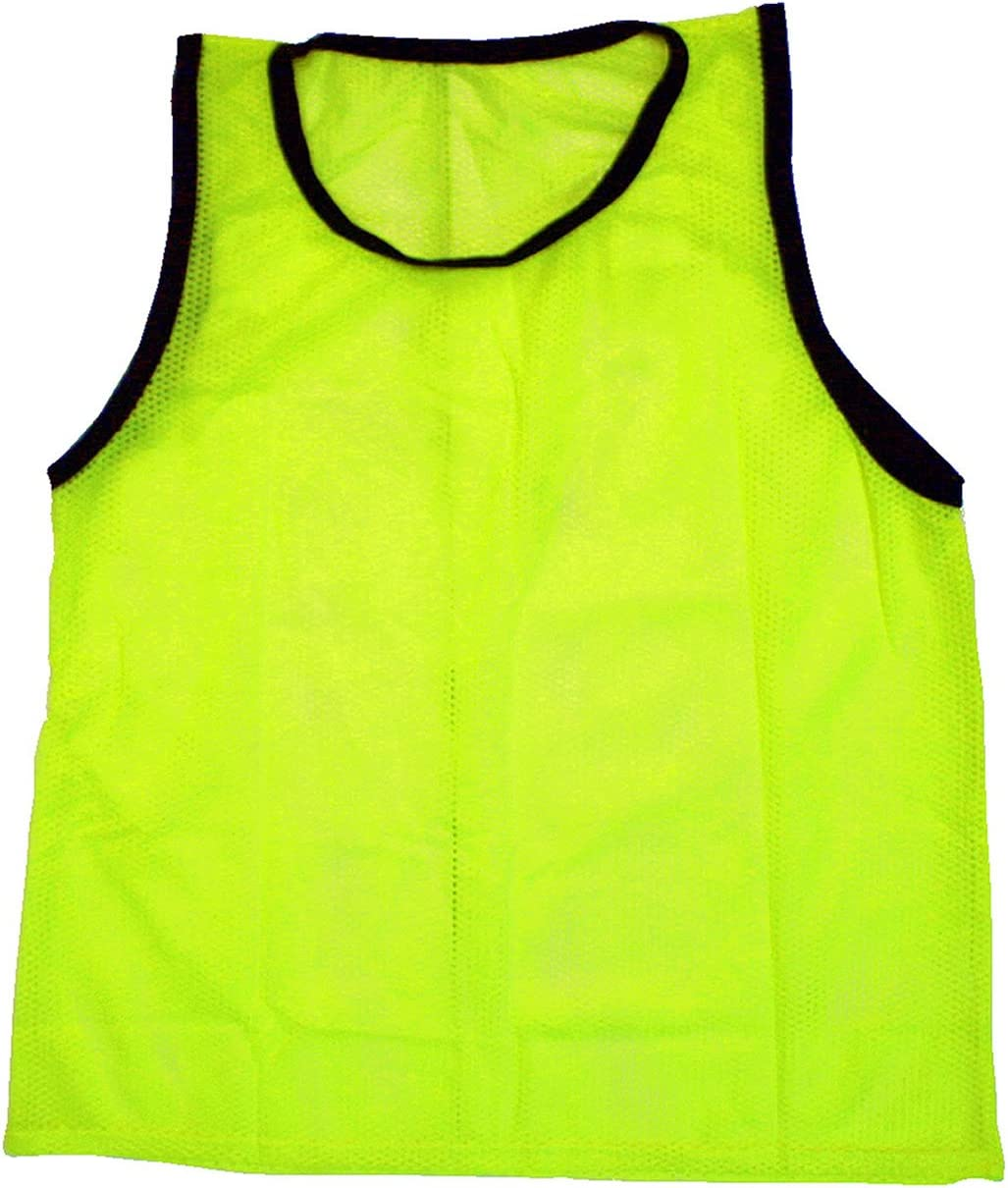 NEW SCRIMMAGE PRACTICE VESTS PINNIES SOCCER YOUTH BLACK