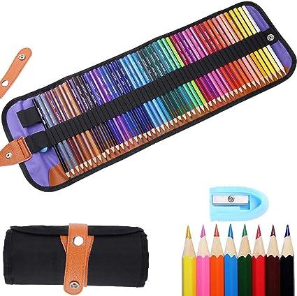 Tonsooze lápices de colores Pack de 50 Multicolor para Artistas, Adultos y Niños, lápices escolares de colores: Amazon.es: Oficina y papelería