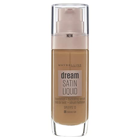 280dbf2d7c6 Maybelline Dream Satin Fluide Fond de Teint  Amazon.fr  Beauté et ...