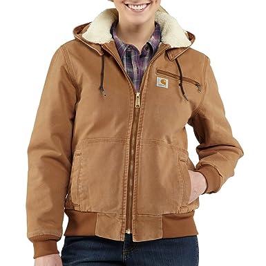 9ce3a265e1a69 Carhartt Women's 100815 Women's Weathered Duck Jacket - Sherpa Lined -  X-Small Regular -