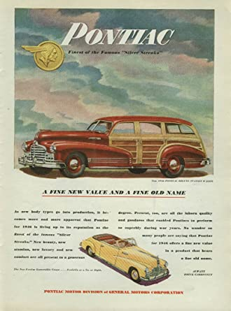 Amazon com: New value and a fine old name Pontiac Deluxe