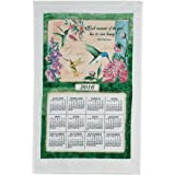 Wings And Blossoms Kitchen Towel Calendar