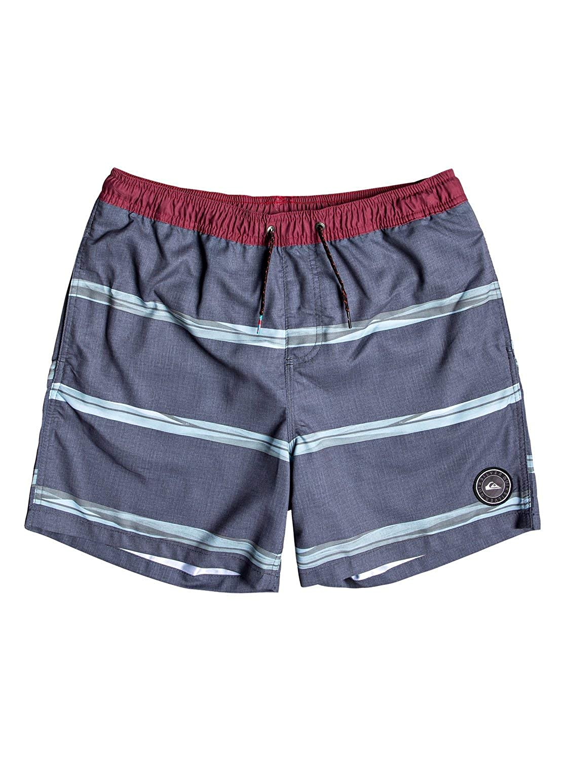 Quiksilver Mens Dunes Stripes Volley 17 Nb Swim Shorts