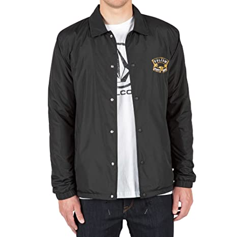 Volcom Antihero Coach Jkt, Color: Black, Size: L