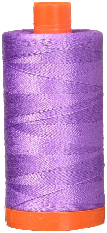 Aurifil A1050-2520 Solid 50wt 1422yds Violet Mako Cotton Thread Aurifil USA