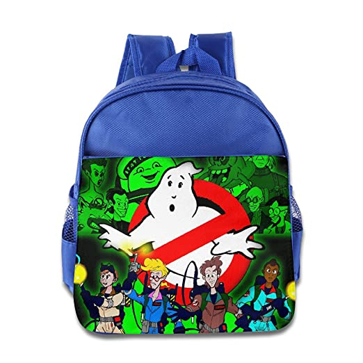 c2f809d6fc12 Kids The Real Ghost Busters School Backpack Funny Baby Children School Bags  RoyalBlue