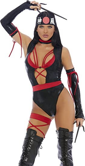 Amazon.com: Chop Til You Drop - Disfraz de ninja sexy: Clothing