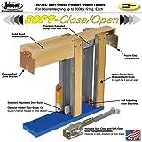 "Johnson Hardware 152668SC Commercial Grade Pocket Door Frame (30"" x 80"") Soft Close"