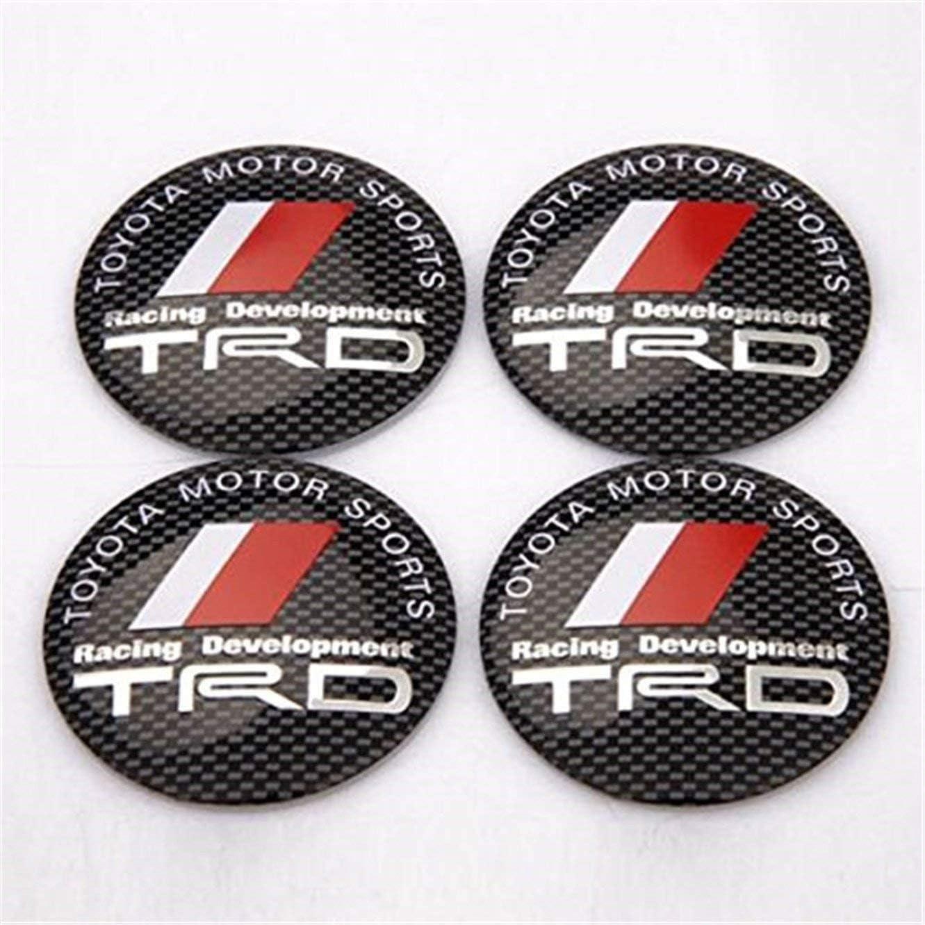4 x 56 mm coche rueda centro Hub Cover Logo Badge calcoman/ía oz