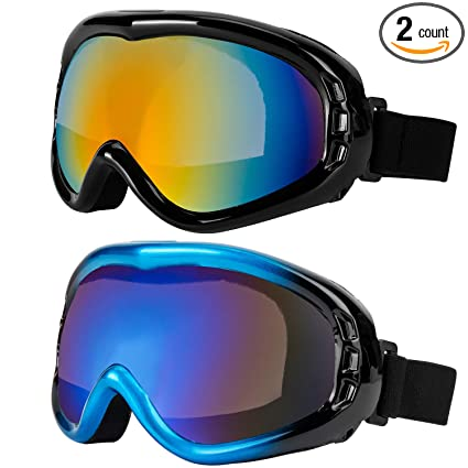 3379e512bee Amazon.com   LJDJ Ski Goggles