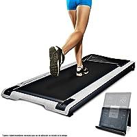 Sportstech Cinta de Correr DESKFIT DFT200 Office Desk (Escritorio de Oficina) Trabajo ergonómico y Movimiento al Mismo Tiempo, sin Dolor de Espalda. con Soporte práctico para Tablet, Control Remoto