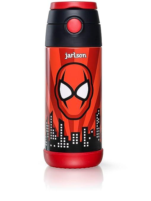Jarlson Botella Agua sin bpa niños | Botellas Agua Acero ...