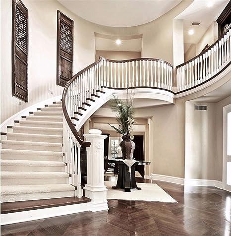 Interior escalera telón de fondo Fotografía Digital Impreso escaleras blanco pared sin costuras de fondo para estudio de fotos de boda 10 x 10 FT: Amazon.es: Electrónica