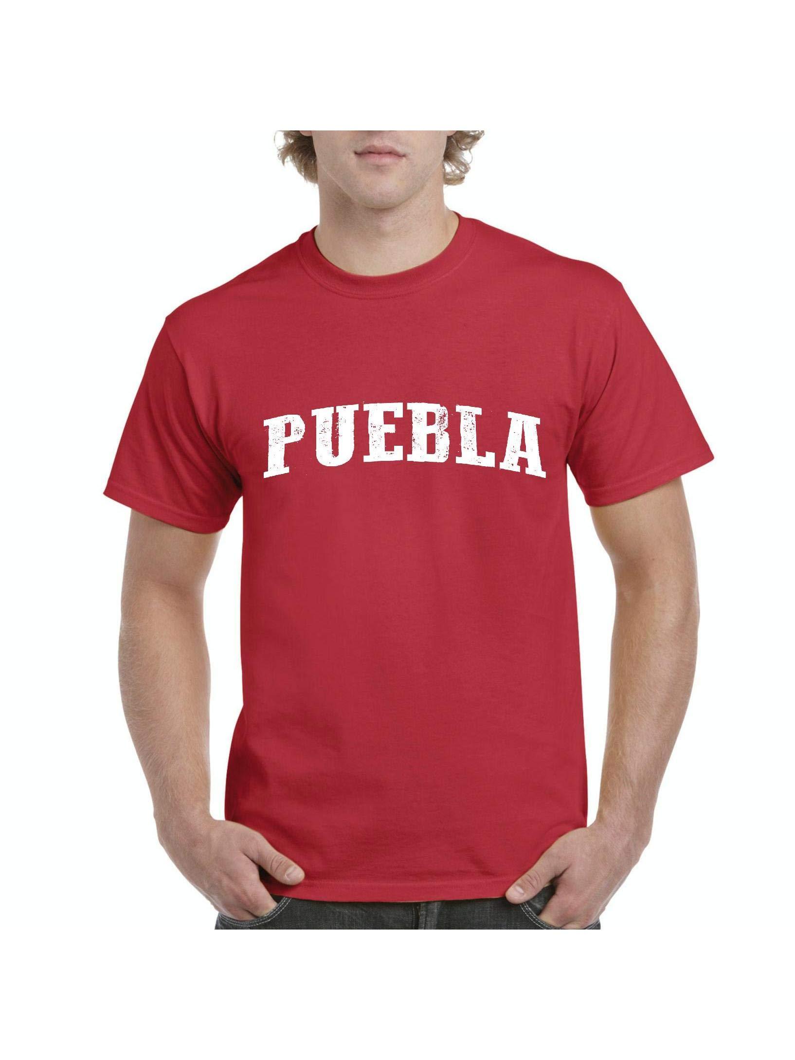 Mexico Cruise Family Vacation Gift Puebla Short Sleeve T Shirt 1798