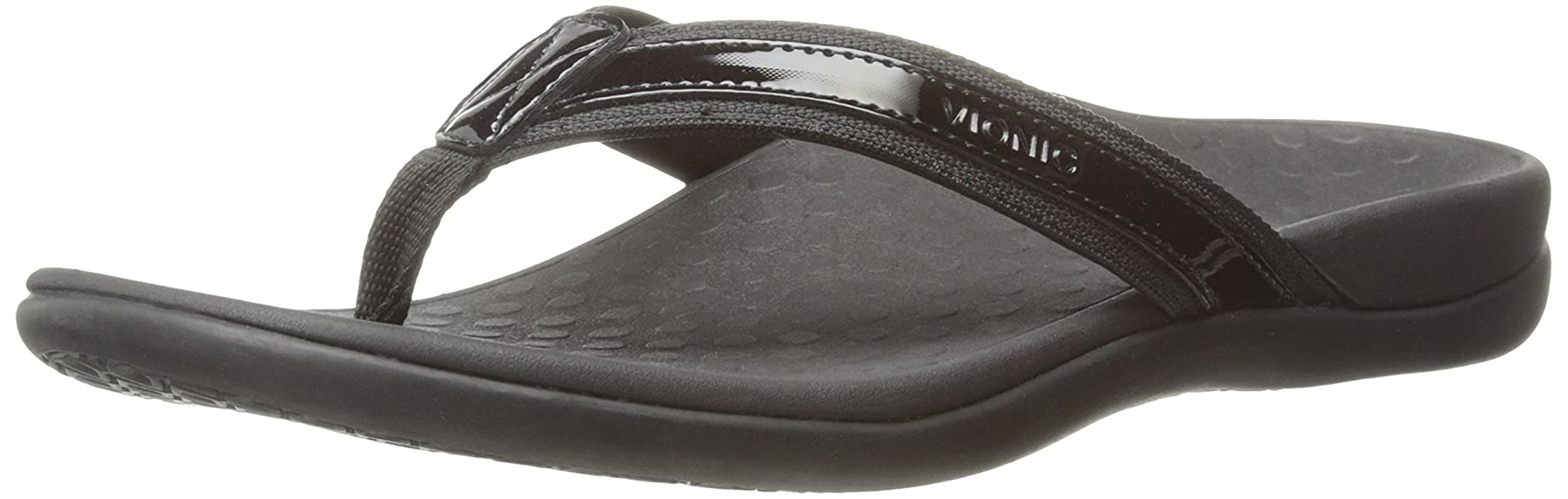 Orthaheel Vionic By Orthaheel Tideii Women Slide In Orthopedic Sandals (5 B(M) Us, Black)