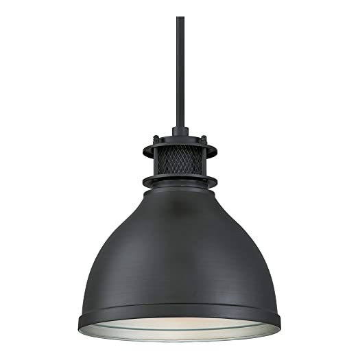 Westinghouse One-Light Indoor Pendant Lámpara de Techo, Gun metal mate, 109 cm