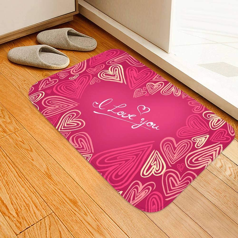 1X 40*60cm//40*120cm 3D Anti-slip Carpet Mat Printing Door Floor Hallway Area Rug