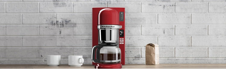 KitchenAid KCM0802ER - Cafetera (Independiente, Cafetera de filtro ...