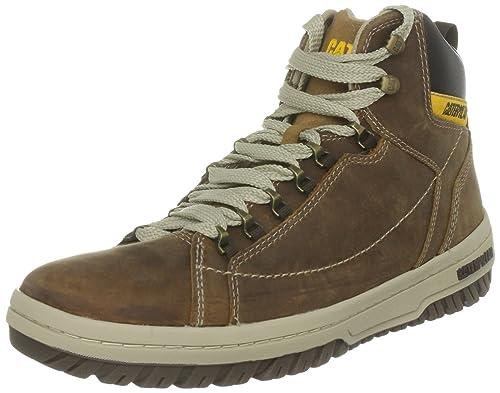 5e6ec2f431ae Caterpillar CAT Footwear Men's APA Hi Low-Top Sneakers, (Dark Beige),