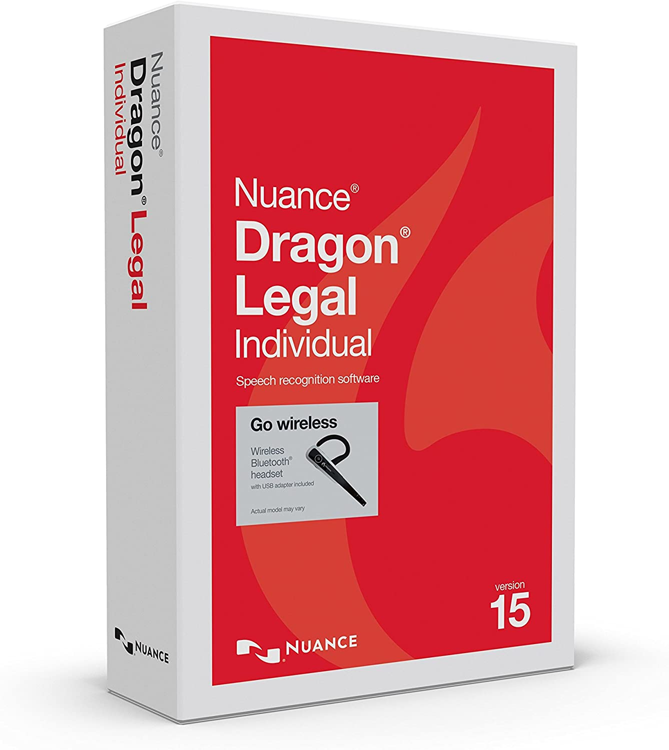 Dragon Legal Individual 15, Dictate Documents and Control your PC – all by Voice, [PC Disc] with Bluetooth Headset