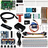 OSOYOO Raspberry Pi 3 IOT Starter Kit 2017 The Lastest Complete with RPi3 Model B Controller Board (23 items)