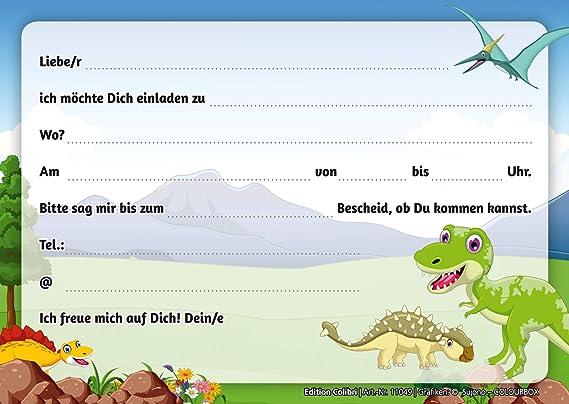 10 Invitaciones De Dinosaurio Para Cumpleaños Infantiles