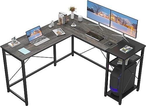 Homfio L Shaped Desk Computer Office Desk