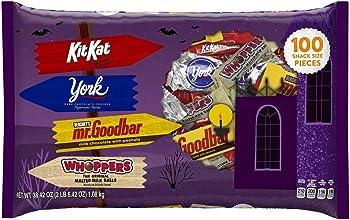 100-Pc. HERSHEY'S Halloween Snack Size Chocolate