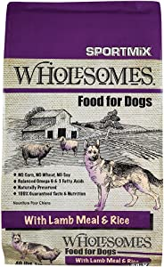 Sportmix Wholesomes With Lamb Meal And Rice Dry Dog Food, 40 Lb.