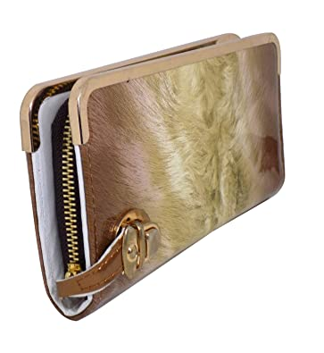 763825e17a423b Fully Stylish Hand Purse For Girls And Women For Wedding And Shopping Money  And Mobile Carry Hand Clutch Brown 40 Gram Pack Of 1: Amazon.in: Shoes & ...