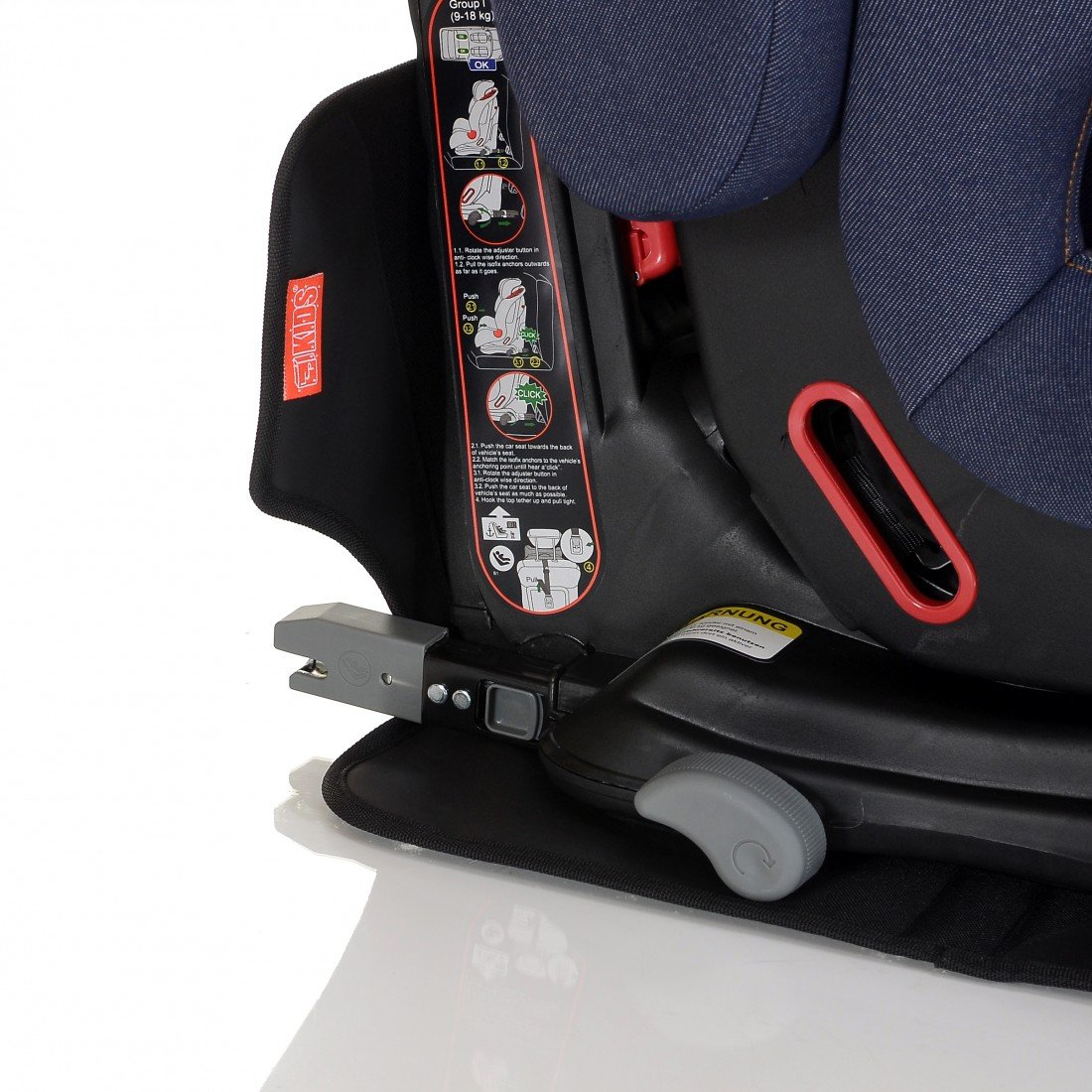 LCP Kids Protectores para silla de coche asiento infantil de coche coj/ín de protecci/ón