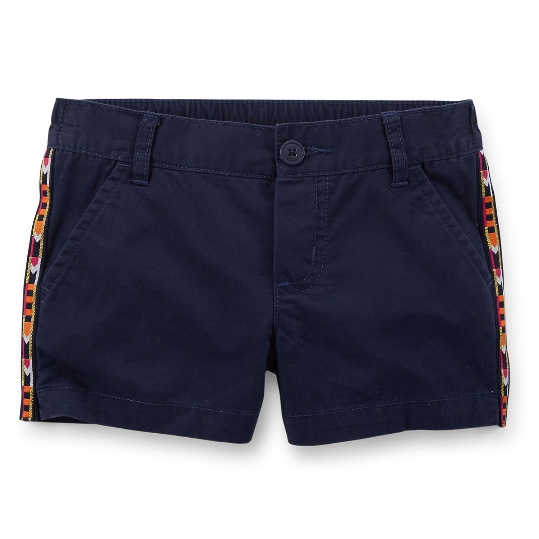 Carters Embellished Twill Shorts Navy Blue