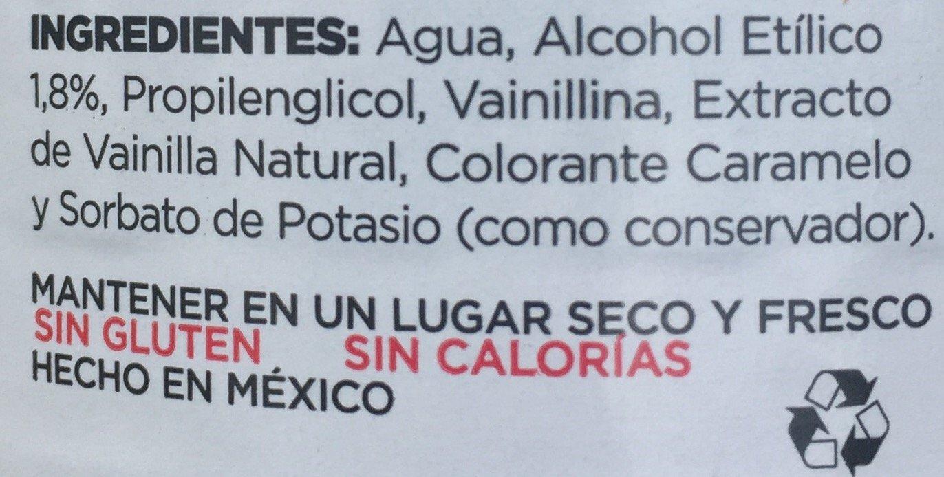 SABORIZANTE VAINILLA LIQUIDA NATURAL 1 litro VAINILLA MOLINA: Amazon.es: Alimentación y bebidas