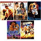 Step Up: Complete Dance Movie Series 1-5 DVD Collection - Starring Channing Tatum