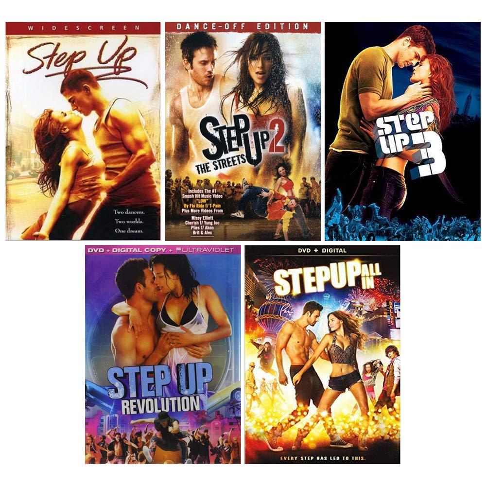 Amazon.com: Step Up: Complete Dance Movie Series 1-5 DVD Collection - Starring Channing Tatum: Channing Tatum, Jenna Dewan, Various: Cine y TV