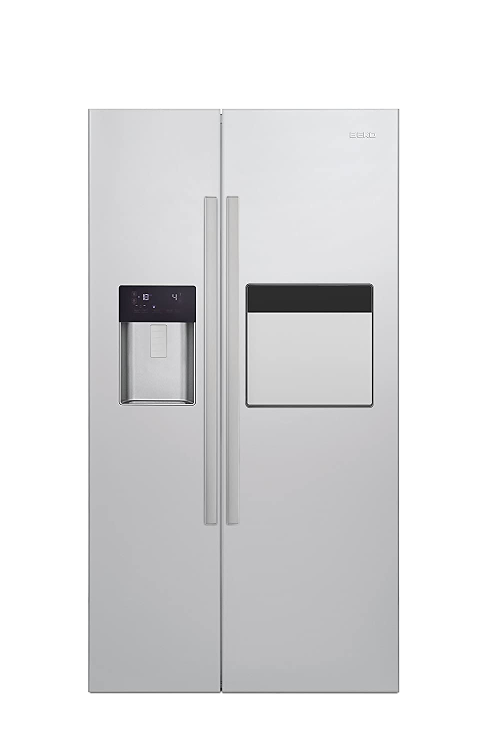 Beko GN 162420 X - Frigorífico side-by-side (Independiente, Acero ...