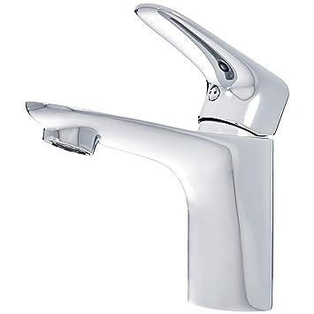 Das Waschbecken.Amazonbasics Standard Mischbatterie Für Das Waschbecken Poliertes Chrom