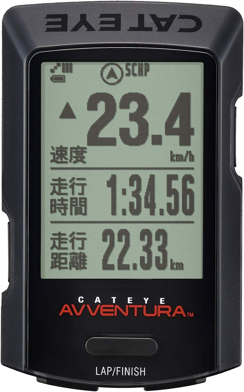 GPSサイクロコンピュータ AVVENTURA 日本語表示対応 CC-GPS200