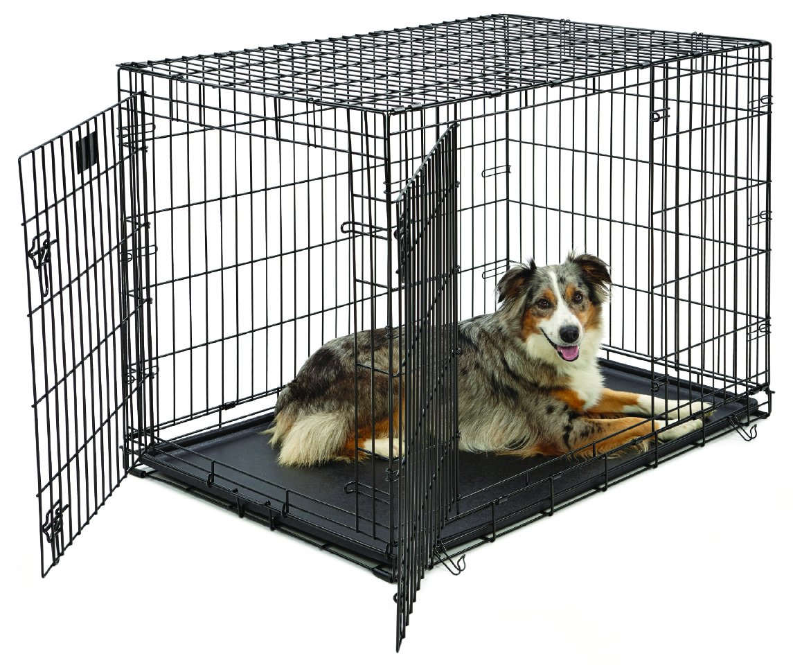 Amazon Large Dog Crate Midwest Life Stages Double Door
