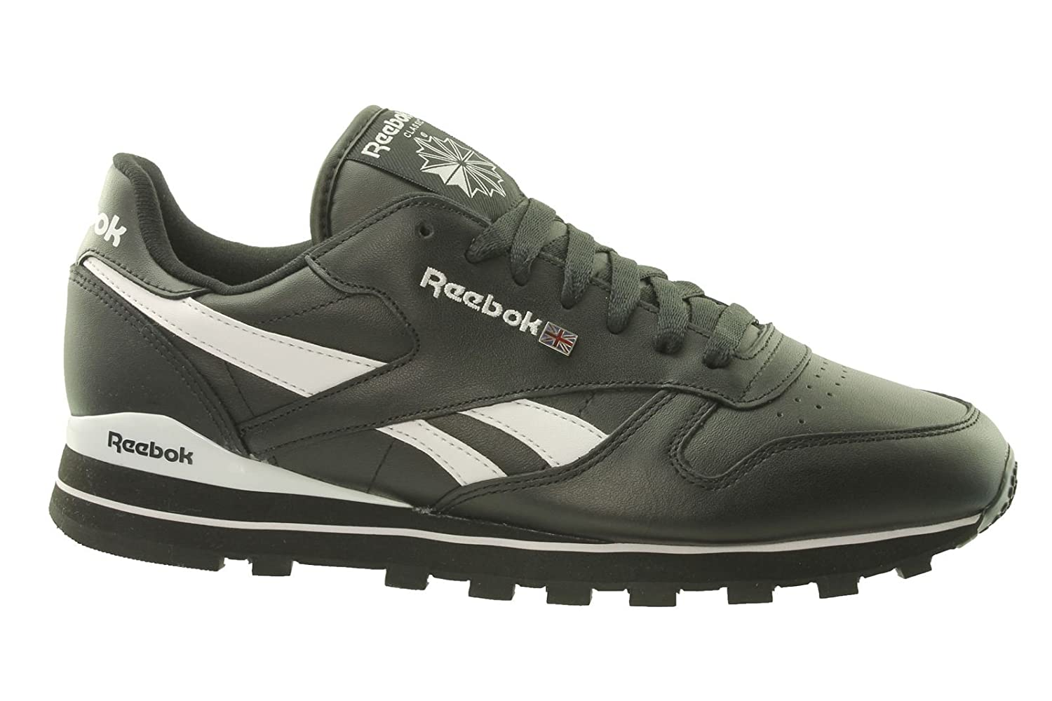 8b32baf1f30991 Reebok Classic Leather Clip V51800 Mens Trainers UK 6.5  99.Y16   Amazon.co.uk  Shoes   Bags