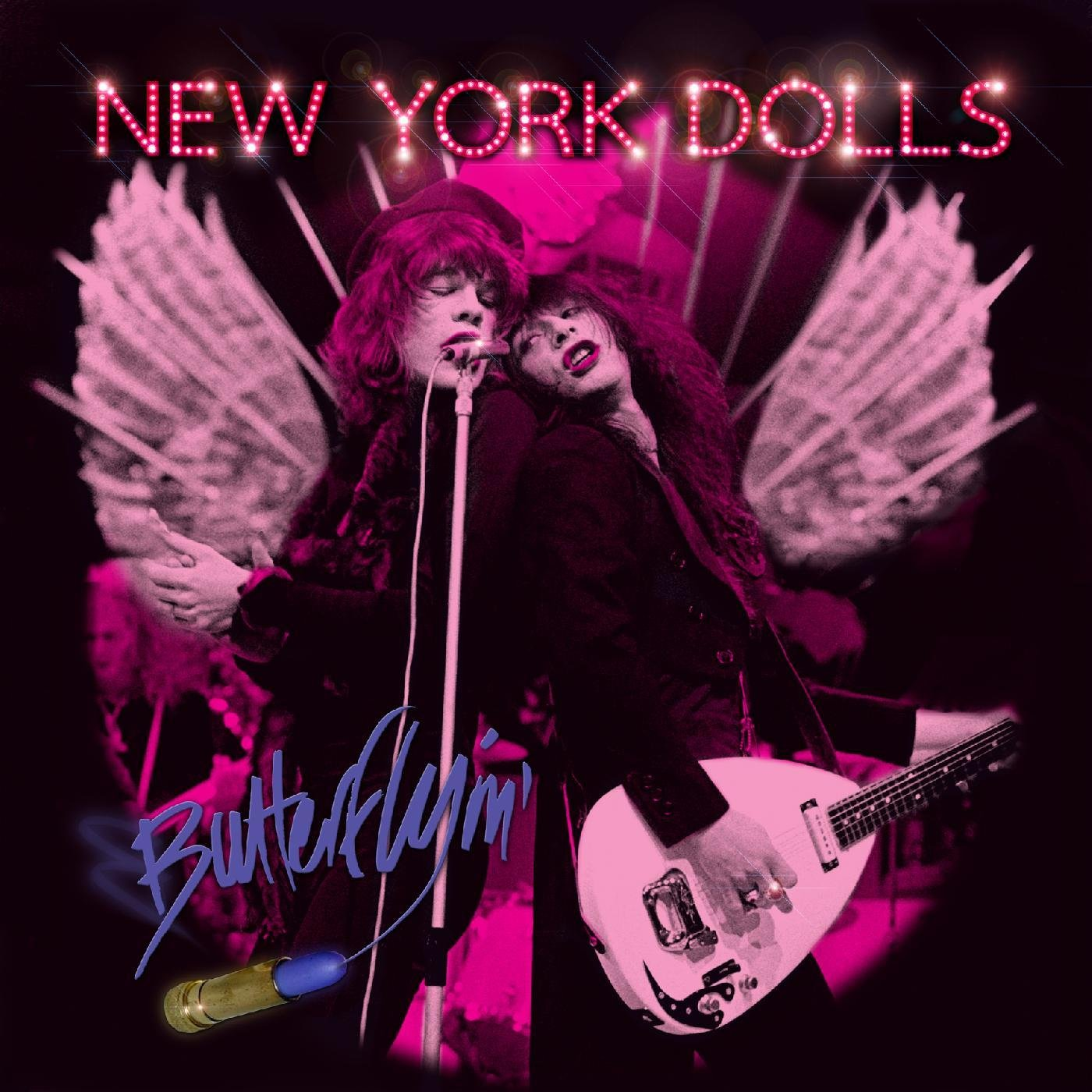 Vinilo : New York Dolls - Butterflyin' (LP Vinyl)