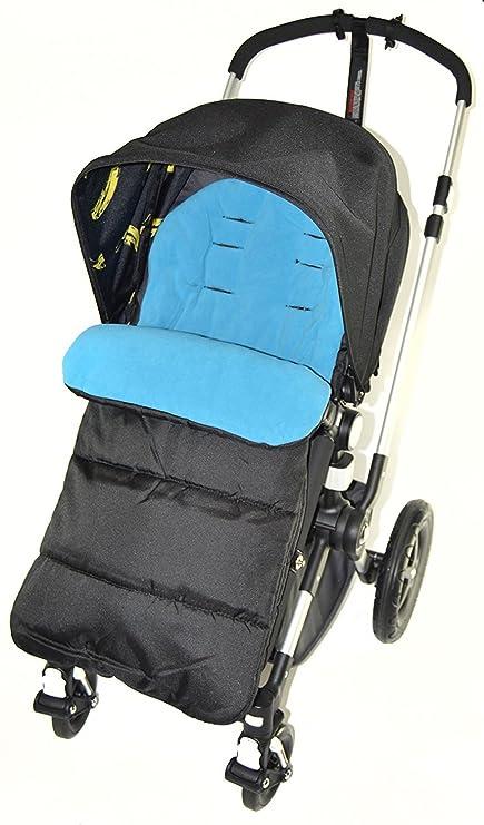 Saco/Cosy Toes Compatible con carrito Bugaboo océano azul ...