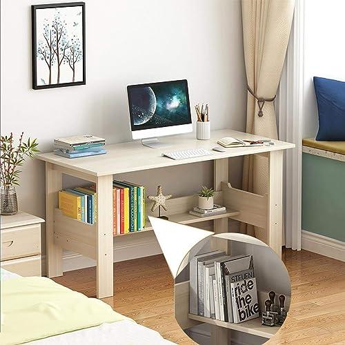 Home Office Desk 40 inch Modern Desktop Computer Desk Gaming PC Laptop Desk Work Table