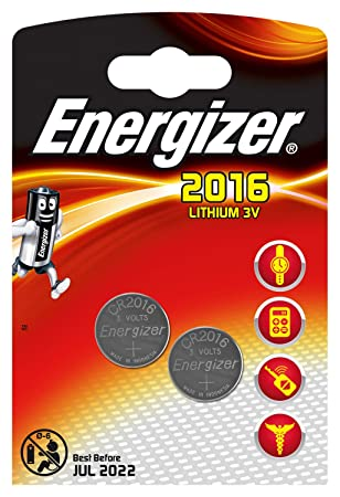 20 X Energizer Cr2016 3v Lithium Coin Cell Battery 2016 Jewelry & Watches