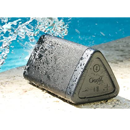 OontZ Angle 3 Next Generation Ultra Portable Wireless Bluetooth Speaker : Louder Volume 10W+, More Bass, Water Resistant, Perfect Speaker for Golf, Beach, Shower & Home (Black) by Cambridge SoundWorks
