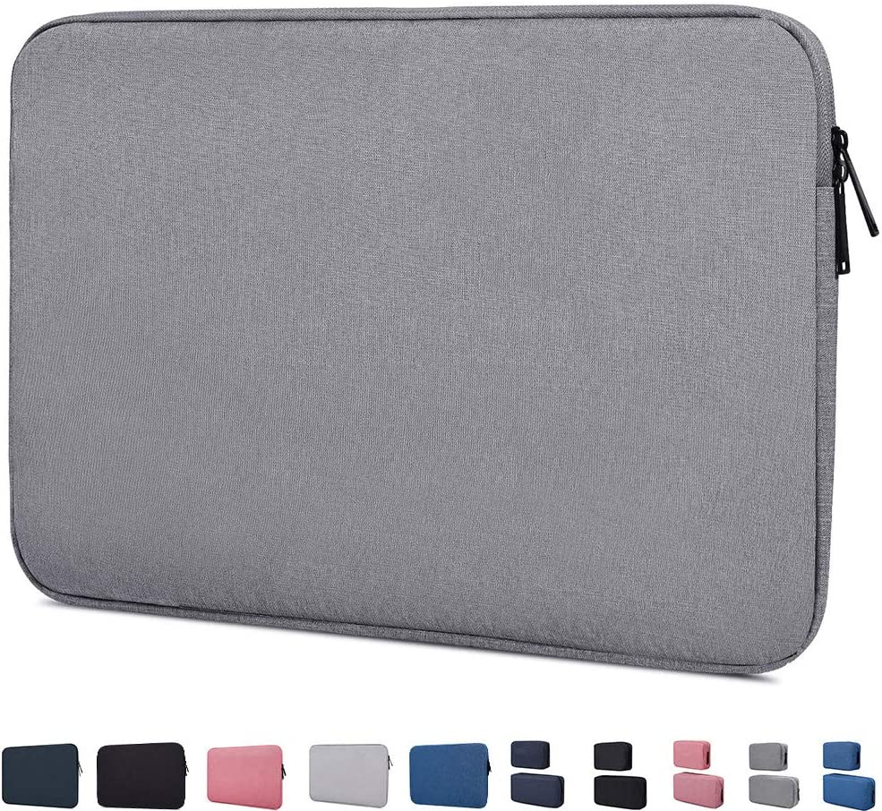 "15.6 Inch Laptop Sleeve Case Compatible with Acer Aspire E 15/Acer Chromebook15/Acer Predator Helios 300,HP 15.6"" Laptop,ASUS VivoBook F510UA 15.6,Toshiba Samsung HP LG MSI 15.6 inch Notebook Bag,Grey"