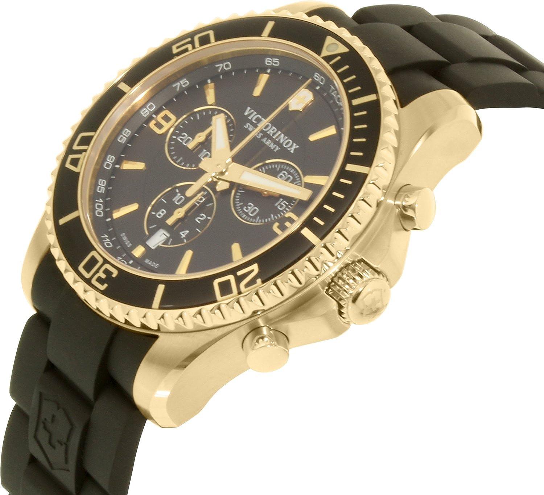 Amazon.com: Victorinox Swiss Army Mens Maverick 249099 Gold Stainless-Steel Swiss Quartz Watch: Victorinox Swiss Army: Watches