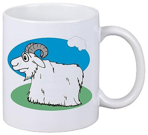 Kaffeetasse Motiv Nr. 11381 Bergziege Cartoon Spass Fun Kult Film Serie  Cartoon Spass Fun Kult